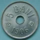 ROMANIA, 5 BANI 1906 J_aUNC-UNC * cod 124