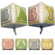 Balon Cubez 3D Baby din folie 38 x 38 cm foto