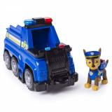 Set de joaca Paw Patrol Chase cu masina de politie