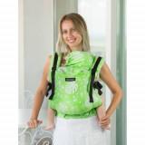 Marsupiu Isara Toddler Full Wrap Conversion Philodendra Lime