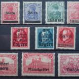 Lot timbre Germania Deutsches Reich, Stampilat