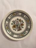 Farfurie portelan Dorset, Made in England by Wood & Sons Burslem, 12 cm diametru