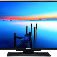 RESIGILAT: Televizor Led Finlux 61 cm, HD Ready, Negru, 24FHB4201