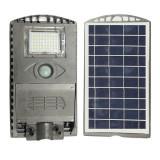 Corp de Iluminat Exterior Lampa Solara LED 10W cu Senzor Lumina