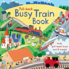 Carte Pull-back Busy Train