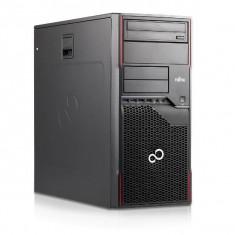 Calculator Fujitsu Celsius W420 Tower, Intel Core i5 Gen 3 3470 3.2 GHz, 16 GB DDR3, 480 GB SSD NOU, Placa Video Radeon HD5450, 2 GB DDR3, DVDRW, Wind
