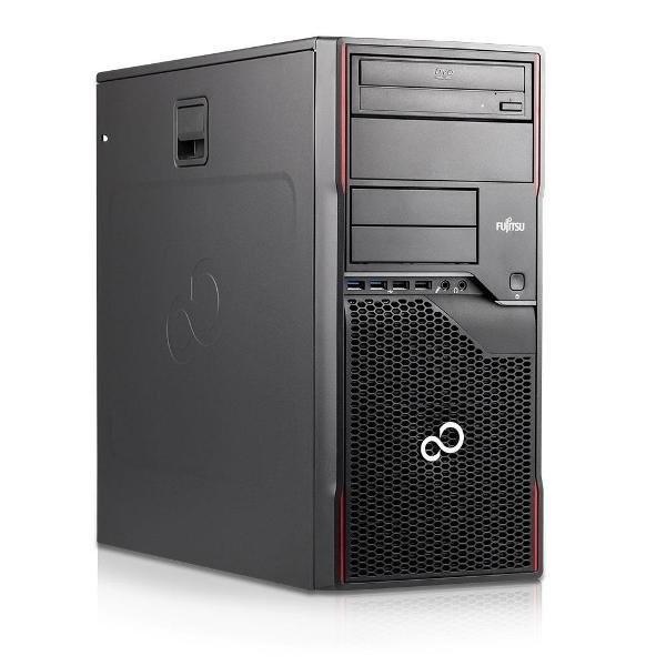 Calculator Fujitsu Celsius W420 Tower, Intel Core i5 Gen 3 3470 3.2 GHz, 16 GB DDR3, 500 GB HDD SATA, Placa Video nVidia GeForce GTX1650Ti, 4 GB DDR5,