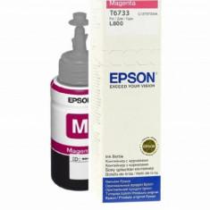 Cartus cerneala epson t6733 magenta capacitate 70ml pentru epson l800