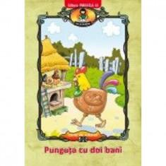 Punguta cu Doi Bani. Carte de Colorat - Serban Andreescu (Ilustratii)