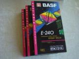 Lot 3 Casete Video BASF Premium HG 240 min - NOI Sigilate