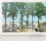 Bnk cp Suceava vazuta de la Cetatea de Scaun - Vedere - uzata, Circulata, Printata