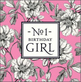Felicitare - No 1 Birthday Girl | Pigment Productions