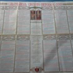CALENDAR CRESTIN ORTODOX 2009