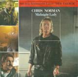 "Chris Norman - Midnight lady (1988, Hansa) Disc vinil single 7"""
