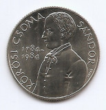 Ungaria 100 Forint 1984 (Sándor Kőrösi Csoma) 32.1 mm KM-638 aUNC