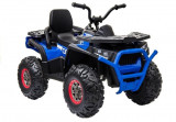 Cumpara ieftin ATV electric pentru copii BJ607 12V 90W cu Scaun Tapitat Albastru