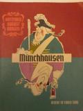 Gottfried August Burger - MUNCHHAUSEN. Desene de Eugen Taru