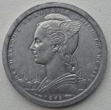 Africa Occidentala Franceza - 1 Franc 1948