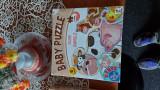 Baby puzzle animale fermă D-toys