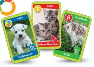 Animal Kindergarten Series - 8 rare cards from Mega Image CG.018