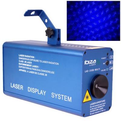 Laser firefly 200mw albastru cu dmx foto