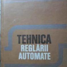 TEHNICA REGLARII AUTOMATE - I. DUMITRACHE