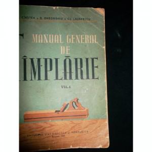 MANUAL GENERAL DE TAMPLARIE - I. CIRSTEA VOL.I