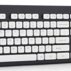 Tastatura Gembird X-scissors KB-CH-0, USB, US Layout (Gri/Alb)