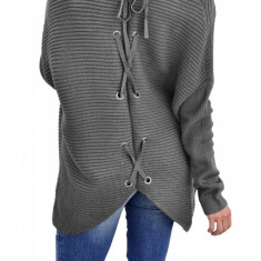 S716-181 Cardigan cu maneci lungi si model la spate