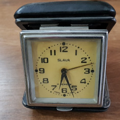 ceas calatorie slava, cu alarma, functional.
