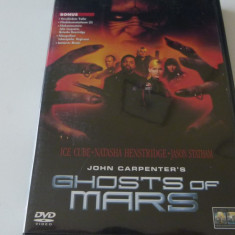 chost of mars - john carpenter - dvd