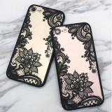 Huse de telefon cu flori din dantela pentru iPhone 6s/6 Plus/7/7 Plus/8/8 Plus/ X