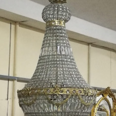 Boem candelabru in stilul francez Empire de dimensiuni impresionante