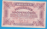 (5) BANCNOTA UNGARIA - 100.000 ADOPENGO 1946 (28 MAI 1946)