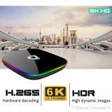 Mini Pc Wear Q Plus 4GB Ram 64GB Rom Android 9 Smart TV Box 6K