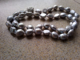 Colier de lux cu perle naturale baroque