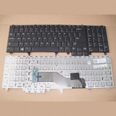 Tastatura laptop noua DELL Latitude E6520 Black US(Without point stick)