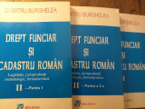 Drept funciar si cadastru roman- Burghelea, 3 vol