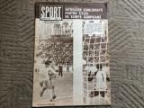 revista sport nr 3 martie 1980 RSR fan sport fotbal handbal gimnastica atletism