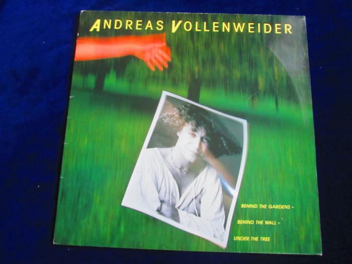 Andreas Vollenweider - Behind The Gardcens, Behind The Wall_LP _Germania(1981)