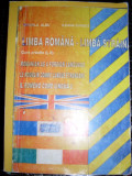 Limba Romana- Limba Straina - Mihaela Albu, Ileana Bunget ,549481
