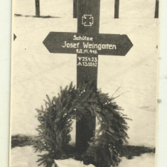 Cp real foto ww2 : Mormintele soldatilor germani