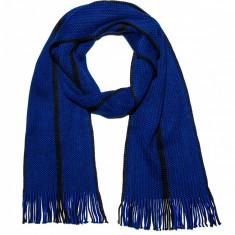 Fular pentru barbati marime unica albastru A104