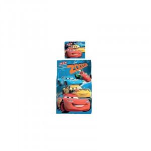 Set lenjerie de pat 2 piese pentru copii Disney Cars LDC-1, Multicolor