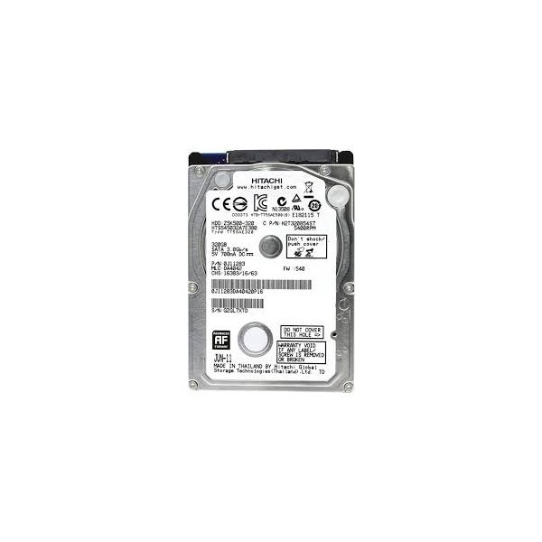 Hard Disk Laptop Sh -Hitachi 250 GB ,8 MB ,SATA 1.5Gb/s