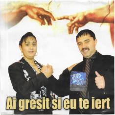 CD Ai Gresit Si Eu Te Iert, original, manele