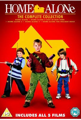 Filme Comedie Home Alone / Singur Acasa 1-5 DVD Box Set Complete Collection foto