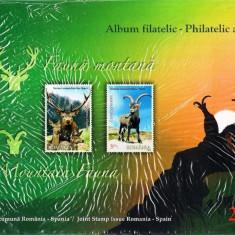 ROMANIA 2012 - ALBUM FILATELIC - FAUNA MONTANA- LP 1957 b