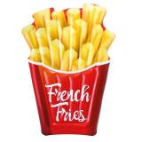 Saltea gonflabila pentru plaja French Fries Intex, 175 x 132 cm