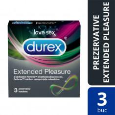 Prezervative Durex Extended Pleasure, 3 buc